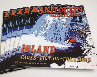 Magazine/Manitoulin Illustrated by Whytes (Storybook, History Book, Graphic Novel, Magazines, Magazines Print, Fiction, Folklore, Canada)