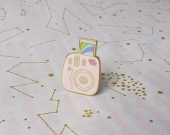 Instant Rainbow - Hard Enamel Pin - Instax Mini Lapel Pin