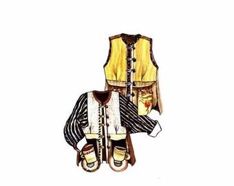 SALE Java Jacket and Vest Diane Ericson ReVisions 104 Sewing Pattern Size XS thru XXL Uncut