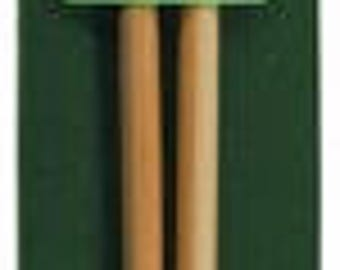 Clover Takumi 9-Inch Single point bamboo knitting needles ~ Choose Size