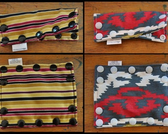 Feeding Tube Connector Cover - Cover up the Connection to prevent messes!  - Ready to Ship. Stripes and Southwestern.