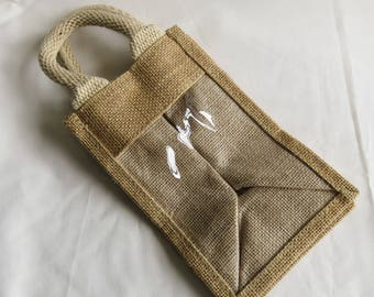 Hessian Giftbag, Gift Bag