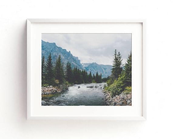 """Rosebud Creek"" - landscape wall art"