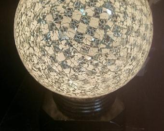 White Globe Lamp - FREE SHIPPING