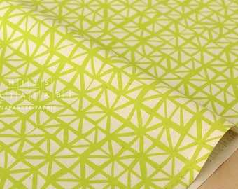 Cotton + Steel Lil' Monsters - shattered citron - fat quarter