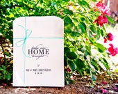 Wedding Favor Bag - Take Me Home  - Baked Good Favor Bag - Cookie Bag - 20 White Favor Bags included