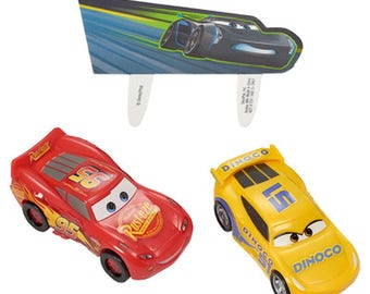 Cars 3 Cake Decorating Topper Kit! NEW! Birthday Supplies