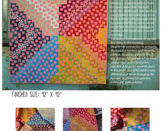 Medusa Modern Quilt Pattern PDF