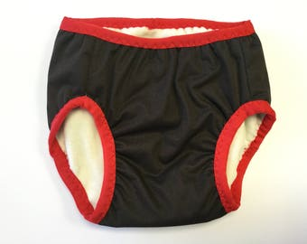 Training Pants Brown And Red