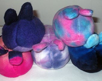 In Stock - OOAK Sea Bunnies - Weighted Plush - Autism Anxiety - Stim Toy Fidget Toy