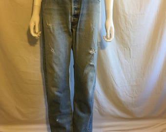 90's LEVIS jeans 501 button up  W 35