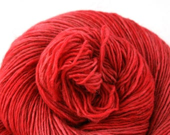 Olana fingering weight cormo alpaca angora blend yarn 300yds/274m 2oz/57g Strawberry Pop