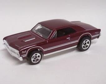 Hot Rod Magnet - 1967 Chevrolet Chevelle SS : Hot Rod, Man Cave, Refrigerator, Tool Box, Stocking Stuffer, Magnet