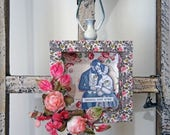 Valentine shadowbox - mixed media - HAPPILY EVER AFTER - NO014