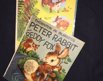 1954 Peter Rabbit and Reddy Fox Book
