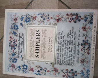 Cross stitch Sampler Book, Crosstitch, cross stitch book, Sampler book
