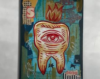 Extraction - Original art by Kevin Kosmicki