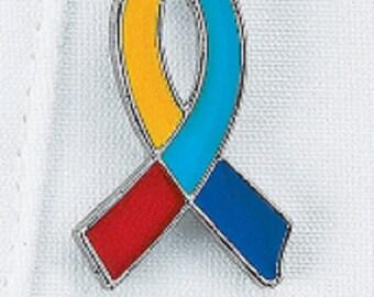 Autism Awareness Ribbon Pin