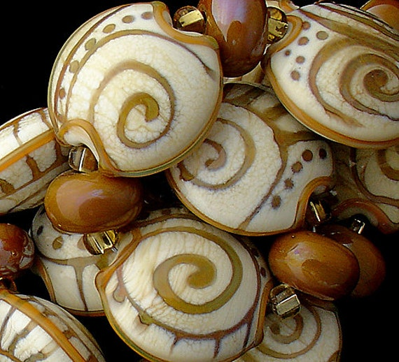 Glass Beads Travel Beads Tribal Beads Lampwork Beads Handmade Beads For Jewelry Supplies Beads For Necklaces Artisan Beads Debbie Sanders