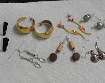 Lot of Pretty Pierced Earrings