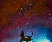 RIP Stephen Hawking TRIBUTE CARTOON