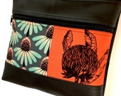 Special order for Jenny Double Zipper Lay down Sue bag