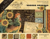 ON SALE Graphic 45 Deluxe Collector's Edition French Country Paper Kit