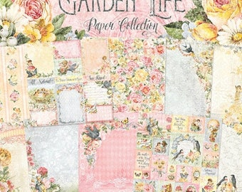 ON SALE Blue Fern Studios Garden Life Collection, 20 sheets