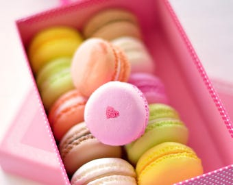 CUSTOM LISTING for Cassi Carr - 2 sets of Clay French Macarons