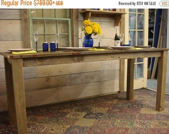 "ON SALE Farmhouse Table (80"" x 30"" x 30 - 36""H)"