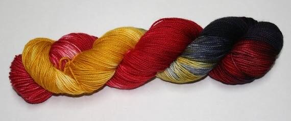 Murtagh's Vengeance Hand Dyed Sock Yarn