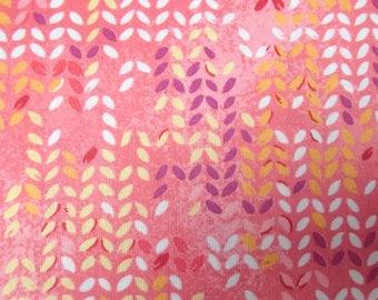 vintage fabric / original 60s / pink / skirt making