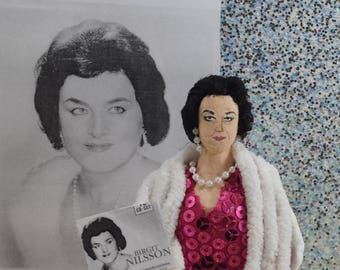 Birgit Nilsson Doll Miniature Soprano Singer Opera Diva Music Lover Gift