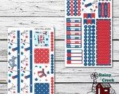 July Monthly Planner Sticker Kit for Happy Planner Classic Planners/ Functional Stickers/ Monthly Sticker Set