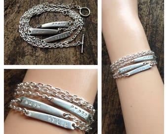 3 Fork Tine Custom Bracelet
