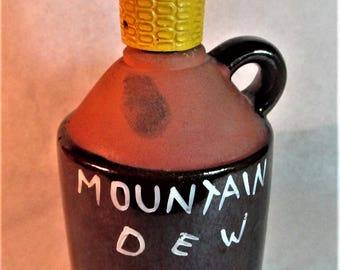 "Artmark Ceramic ""Moonshine"" Whiskey Jug"