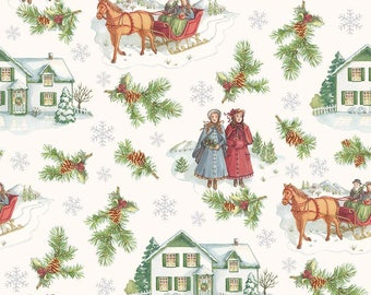 Anne of Green Gables Christmas - Main Gray (C6490-Gray)