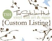 Custom Listing for JH