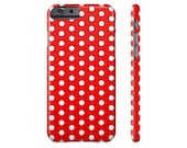 Red Polka Dot iPhone 6s Case iPhone 6 Plus Case iPhone 7 Case Samsung Galaxy s7 Case Samsung Galaxy s6 Case iPhone 6 iPhone 5 Case
