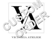 Custom order for Anabel