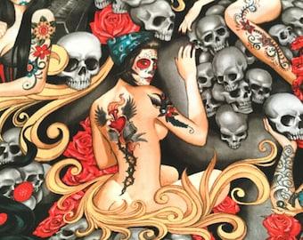 Las Elegantes Bright Smoke Color  ~ Alexander Henry Nicole's Prints
