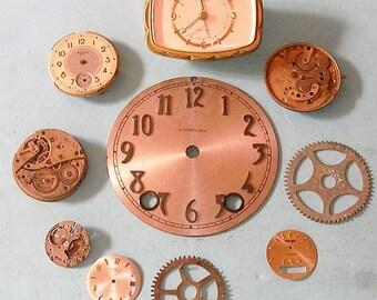 Antique Vintage Watch Parts Pocket Watch Parts Clock Parts Watch Faces