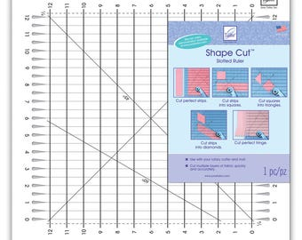 Clearance! Shape Cut™ Ruler by June Taylor JT796