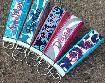 Patterned Fabrics-Key fob