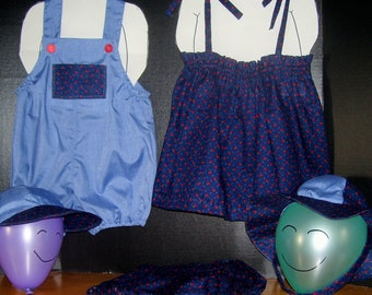 Matching 5pc.Girl/Boy Outfits size 18/24 months free shipping