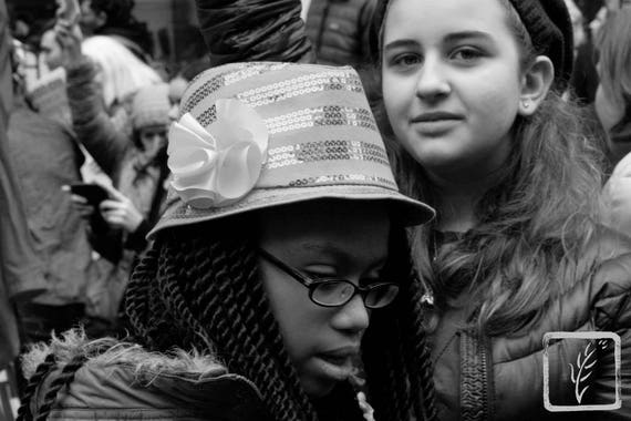 """All Sizes,"" New York City Women's March, 2017."