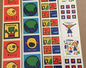 Collection of Todd Parr Stickers