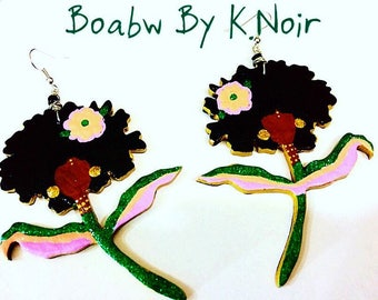 Afro Flowers 2