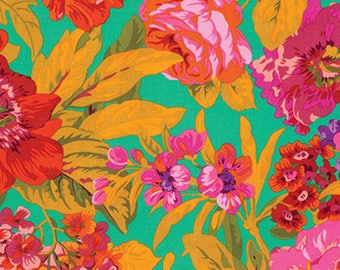 Spring 2015 Voluptuous Green- Philip Jacobs - Kaffe Fassett - PWPJ083 - 100% Quilters Cotton