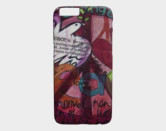 Device Cases iPhone / Samsung (Peace and Love)